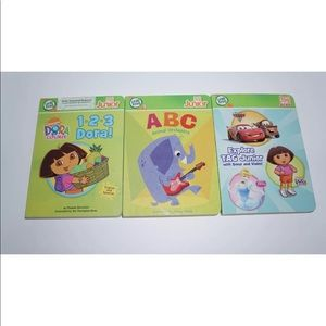 Leapfrog Leap Tag Jr Reading System With 6 books